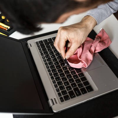 Tip of the Week: Properly Cleaning Your Laptop